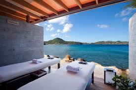100 Christopher Hotel St Barth Fascinated Escapade Office Interior