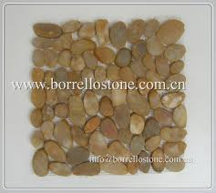 Sliced Pebble Tile Canada by Inspirations Gray Pebble Tile Pebble Wall Tiles Pebble Backsplash