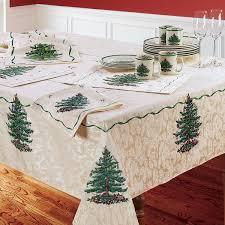 Spode Christmas Tree Glasses Uk by Spode Christmas Tablecloth Spode Christmas Tree Table Linens