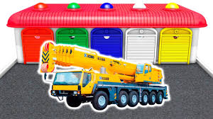 Learn Vehicles - Trucks & Cars For Children | Colors Transport For ...