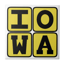 iowa state ceramic tiles zazzle