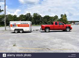 100 What Is A Tandem Truck 2007 Chevrolet Towing A Tandem Axle UHaul Trailer Stock