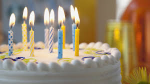 Happy Birthday Cake with Animated Candles s