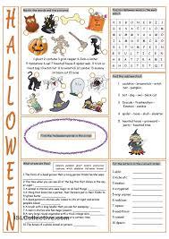 Halloween Mad Libs Esl by 74 Best Halloween Images On Pinterest Activities Halloween