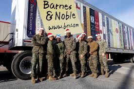 Barnes & Noble Makes Major Donation to the Marine Toys for Tots