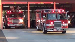 San Diego Fire Station 35 Responding - YouTube