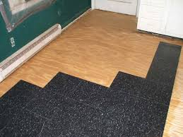 Preparing Subfloor For Tile Youtube by How To Install Commercial Grade Resilient Tile 6 Steps