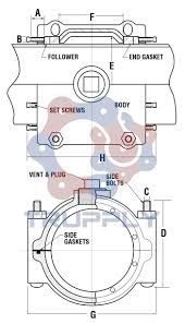 Dresser Couplings For Ductile Iron Pipe by Dresser Style 80 Split Sleeve Dresser Sleeve