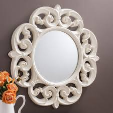 Wayfair Decorative Wall Mirrors by Furniture Stainless Silver Frame Wayfair Mirror For Bathroom