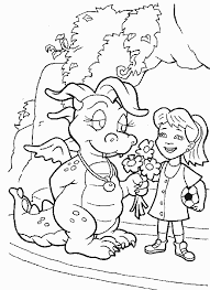 Dragon Tales Coloring Pages Special Offers