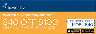 Travelocity 40 Off 100