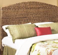 impressive seagrass headboard king seagrass bed headboard pottery