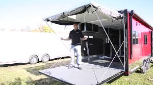 ATC Toy Hauler Tutorial - Patio/Three Season Room - YouTube Best Rv Awning Bromame Rv Ramp Screened In Porch Photos Irv2 Forums How To Install An Window Awning Ae Dometic Youtube To Set Up A Jayco Motorhome Awningscreen Room On Forest River Hardside Aframe Folding Camp Operate Your Manual S Retractable Outdoor Patio Heartland In Windsor Electric Rv Awnings Canada Octane Super Screens Rear Screen For Toy Hauler Ramp Door Own Dream Camper Van Sprinter Build Measure Order Replace Slide Topper
