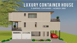 100 Luxury Container House Shipping Design Floor Plans MODBOX 2880