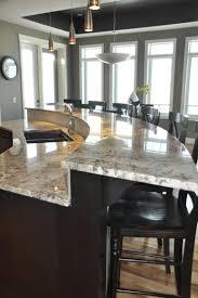 Kitchen Island Booth Ideas by Best 20 Round Kitchen Island Ideas On Pinterest Large Granite