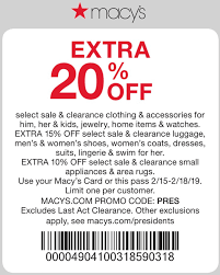 Macys Coupons - Extra 20% Off At Macys, Or Online Via Promo Code PRES Roc Race Coupon Code 2018 Austin Macys One Day Sale Coupons Extra 30 Off At Or Online Via Promo Pc4ha2 Coupon This Month Code Discount Promo Reability Study Which Is The Best Site North Face Purina Cat Chow Printable Deals Up To 70 Aug 2223 Sale Ad July 2 7 2019 October 2013 By October Issuu Stacking For A Great Price On Cookware Sthub Jan Cyber Monday Camcorder Deals 12 Off Sheet Labels Label Maker Ideas 20 Big