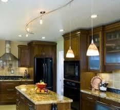 Hampton Bay Flexible Track Lighting In Kitchen