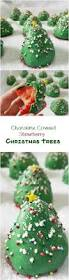 Rice Krispie Christmas Trees White Chocolate by Chocolate Covered Strawberry Christmas Trees By Rumbly In My