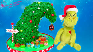The Grinch Xmas Tree by Grinch Christmas Tree Cake