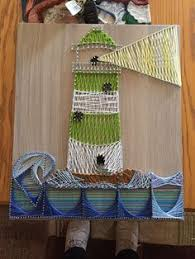 Didnt Turn Out How I Wanted But My Lighthouse String Art