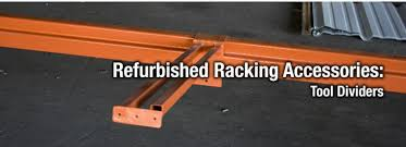 WAREHOUSE PALLET RACK ACCESSORIES USED REFURBISHED AND NEW
