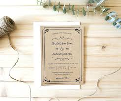Lovely How To Print Out Wedding Invitations For Planning A Rustic Download This Free Printable