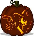 Free Walking Dead Pumpkin Carving Templates by Rick Grimes Pumpkin Pattern The Walking Dead Pumpkin Carving