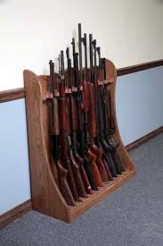 Diy Gun Rack Plans by Diy Wood Projects For Beginners Standing Rifle Rack Plans