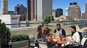 Cbre Employee Help Desk by Cbre U0027s Columbus Offices Include Spectacular Views Workplace360