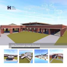 McDonough School Soon To Reach Construction Milestone Education