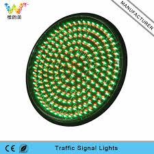 high quality mix green 400mm led traffic signal l wide