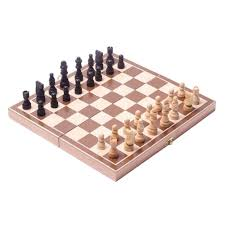 Traditional Wooden Chess Set