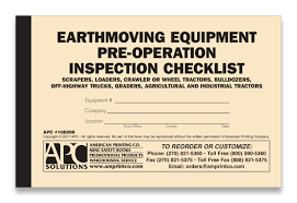 Earthmoving Equipment Checklist | 108898: Earthmoving Equipment ... Safety Checklists Fleetwatch Cdl Class A Pretrip Inspection Study App Infograph Combination Air Brake Ipections Fleetio Class B Cdl Pre Trip Checklist Form Best Of Vehicle Cdl Pre Trip Checklist Kendicharlasmotivacionalesco 100 Point Diagram School Bus Tennessee Truck Driving Cube Van Straight Delivery Cargo Tutorial Demo Youtube