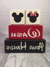 Mickey Minnie Bathroom Decor by Mickey And Minnie Bathroom Set