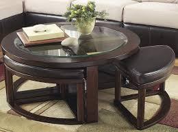 Amazon.com: Marion Dark Brown Color Cocktail Table Set ...