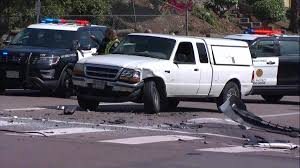 100 Truck Accident Attorney San Diego SDPD Sergeant Civilian Sent To Hospital After 3Car Crash In
