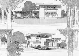 100 Frank Lloyd Wright Sketches For Sale Upstate Homes For Inspired House Brownstoner