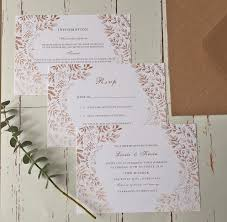 Rustic Rose Wedding Invitations And Stationery