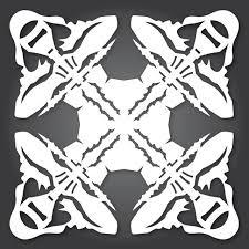 This Year s Star Wars Cut Out Paper Snowflake Designs Geekologie