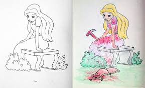 Childrens Coloring Books Made Instantly Nsfw 25 Photos 20 Corrupted Are Darkly Brilliant