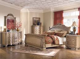 Mathis Brothers Bedroom Sets by Furniture Ashley Furniture Porter Collection Uses A Deep Finish