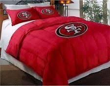 San Francisco 49ers NFL Twin Comforter Pillow Sham Set