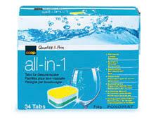 12 pastilles pour lave vaisselle qualité à petit prix