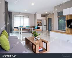 100 Minimalist Contemporary Interior Design Modern Living Dining Stock Photo Edit