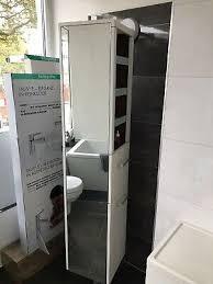 villeroy boch spiegeldrehschrank 350x1720x350mm aus ausstellung ebay