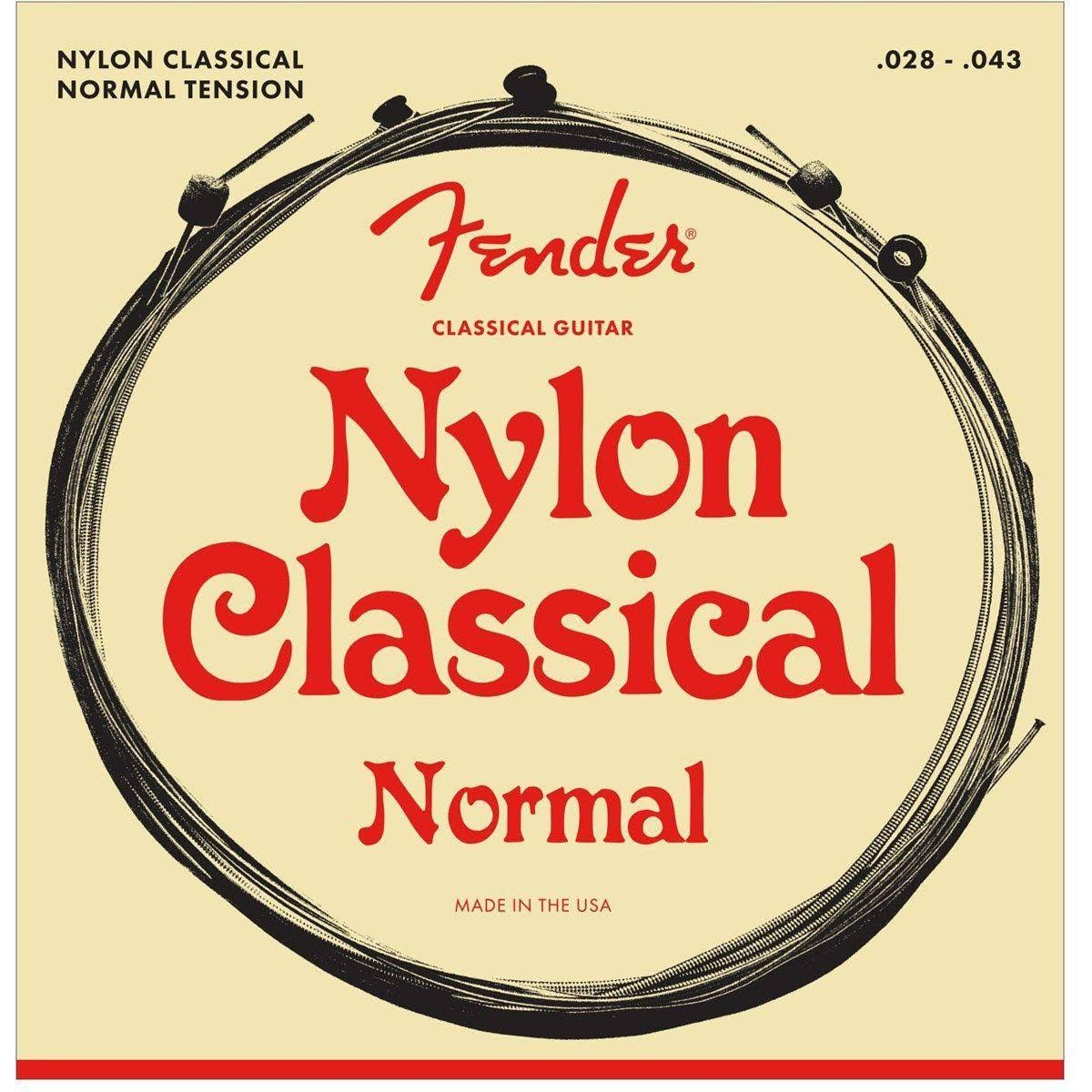 Fender 130 Classical Nylon Guitar Strings