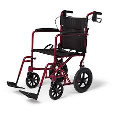 Medline Lightweight Transport Wheelchair With Handbrakes, Folding Transport  Chair For Adults Has 12 Inch Wheels, Red Drive Medical Flyweight Lweight Transport Wheelchair With Removable Wheels 19 Inch Seat Red Ewm45 Folding Electric Transportwheelchair Xenon 2 By Quickie Sunrise Igo Power Pride Ultra Light Quickie Wikipedia How To Fold And Transport A Manual Wheelchair 24 Inch Foldable Chair Footrest Backrest
