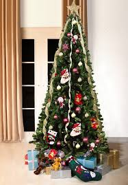 Green Bergen Spruce Artificial Christmas Tree 7ft Tall 3ft Wide