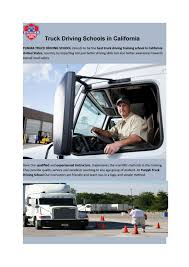 Truck Driving Schools In California By PunjabTruck Driving - Issuu Aspire Truck Driving Ontario School Video 2015 Youtube Mr Inc Home New Truckdriving School Launches With Emphasis On Redefing Driver Elite Cdl Cerfications Portland Or Custom Diesel Drivers Traing And Testing In Omaha Jtl Class A Driver Education Missouri Semi California Advanced Career Institute Trainco Kingman Arizona Roadmaster Backing A Truck