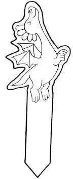 Bookmarks Coloring Pages Bookmark 2